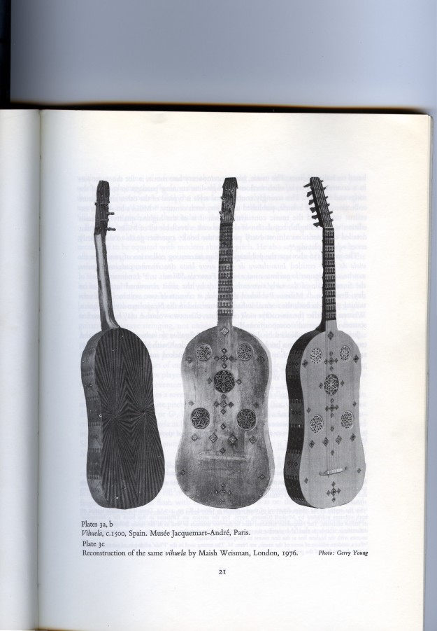Vihuela from The Early Guitar