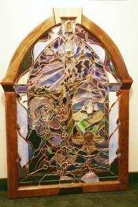 "Frame for ""The Portal"" Made for Zenon Michalak's gallery opening, The Portal Gallery in Sedona"
