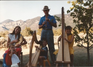 Family Harps of Lorien photo, El Rito, North of Questa