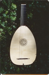 Lute made for Harvey Malloy, Laguna Beach, CA