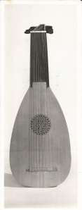 My first lute, a copy of a 10 course lute owned by The Lute Society, UK, after Mattheus Pocht and Georg Edlinger.
