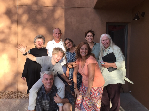The first HeartThread Practitioner Training in Santa Fe, NM 2015