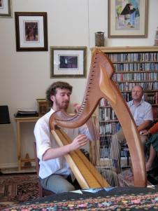 Noah Brenner playing his Joy 38