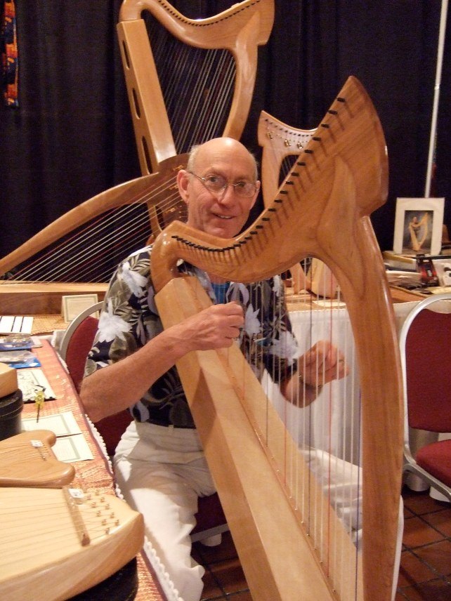 Raphael with Joy harp