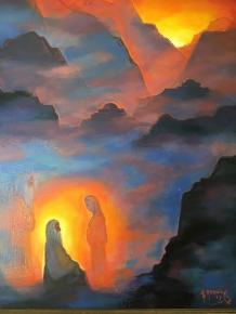 Painting by Herman Rednick