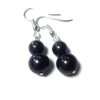 Earrings, 2 bead $10