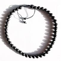 Oriental style necklace (adjustable, no metal clasp)