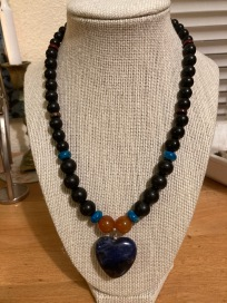 Custom necklace. Sold