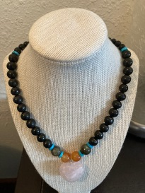 Custom necklace. Pendant can be replaced by a variety of choices $150